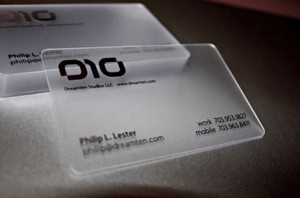 plastic business cards - Plastic Business Card Printing